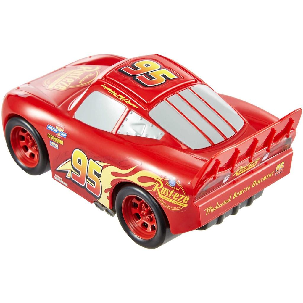 Mattel® Spielzeug-Auto »Pixar Cars Track Talkers Lightning McQueen«, mit Soundfunktion