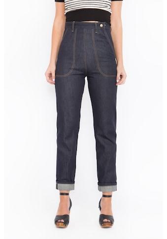 QueenKerosin Straight-Jeans »Red Selvedge«, Original 50s Fit kaufen