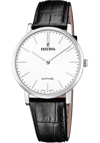 Festina Schweizer Uhr »Festina Swiss Made, F20012/1« kaufen