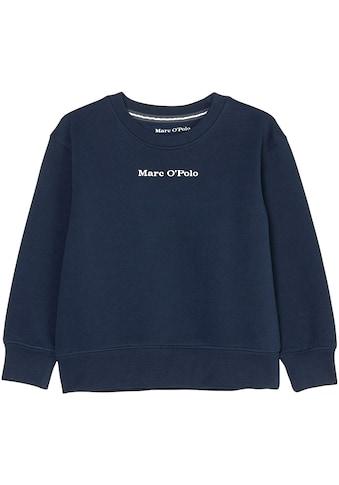 Marc O'Polo Junior Sweatshirt, mit Markenlogo kaufen