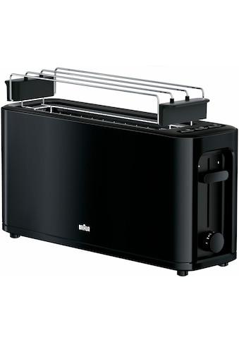 Braun Toaster »HT 3110 BK«, für 2 Scheiben, 1000 Watt kaufen