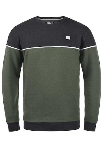 Solid Sweatshirt »Dewar«, Sweatpulli kaufen