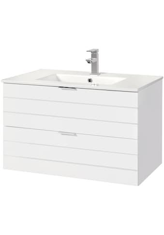 WELLTIME Waschtisch »Luzern«, Waschplatz, 80 cm breit, Bad - Set 2 - tlg. kaufen