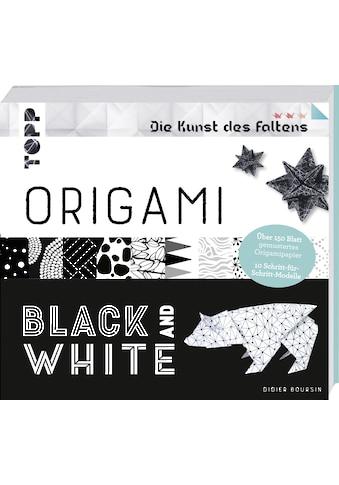 Buch »Origami Black & White (Die Kunst des Faltens) / Didier Boursin« kaufen