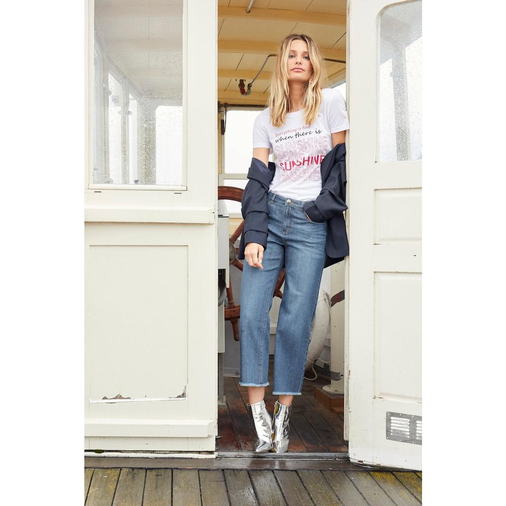 Aniston CASUAL Longblazer, mit extravaganten, gerafften Ärmeln - NEUE KOLLEKTION