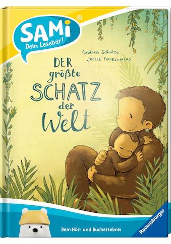 Ravensburger Buch »Starter-Set SAMi - dein Lesebär, Der größte Schatz der Welt«, FSC®... kaufen