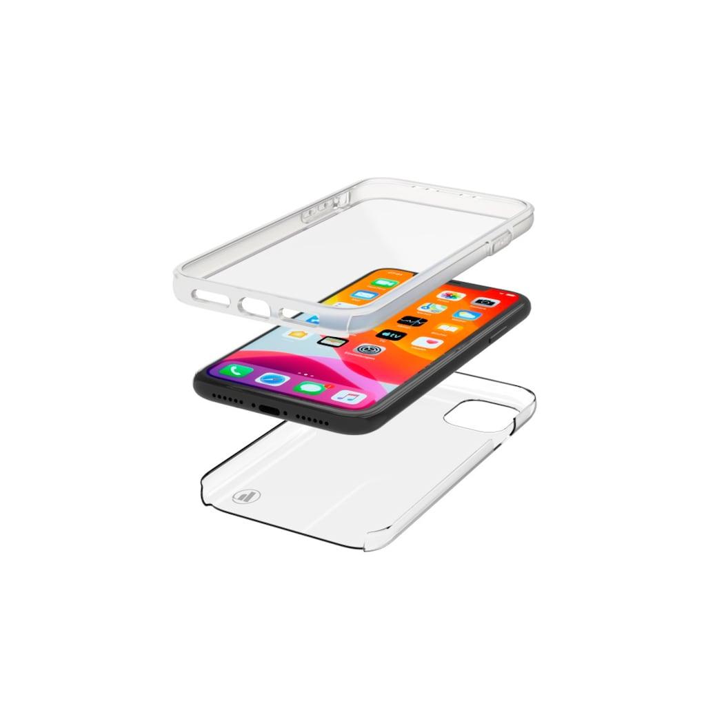 Hama Cover, Hülle, Schutzhülle für Apple iPhone 11, 2-teilig