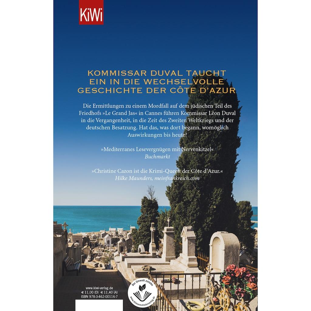 Buch »Lange Schatten über der Côte d'Azur / Christine Cazon«