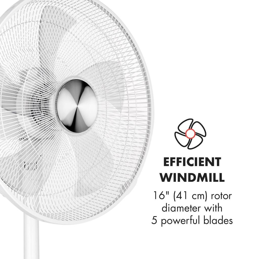 Klarstein Standventilator Windmaschine Flügelventilator 28W Oszillation