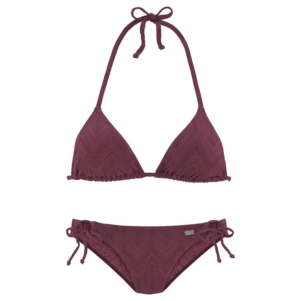 Buffalo Triangel-Bikini, mit modischer Struktur