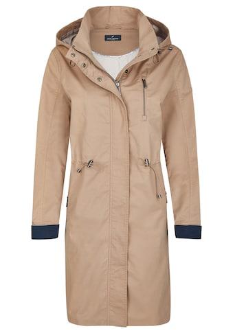 Daniel Hechter Sportiver Mantel mit Kapuze kaufen