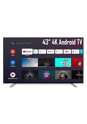 "Toshiba LED-Fernseher »43UA2B63DG«, 108 cm/43 "", 4K Ultra HD, Smart-TV-Android TV kaufen"