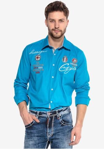Cipo & Baxx Langarmhemd »Team Work« kaufen