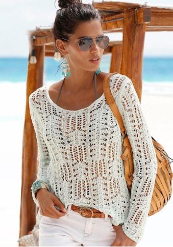s.Oliver Beachwear Rundhalspullover kaufen