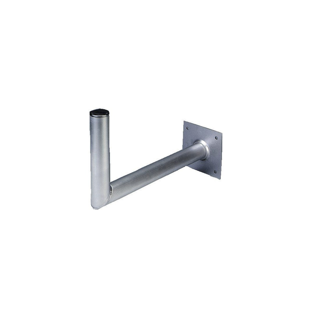 Hama SAT-Wandhalterung aus Aluminium, 45 cm Wandabstand