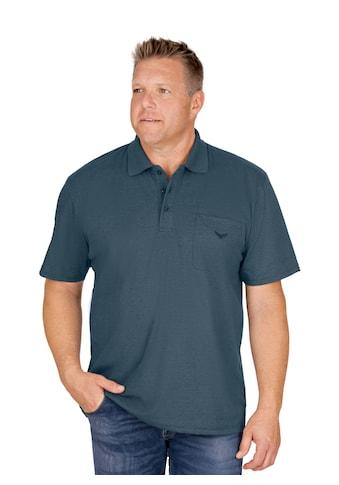 Trigema Poloshirt aus Single - Jersey kaufen