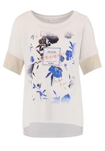 GERRY WEBER Kurzarmshirt »Shirt mit Strickblende« kaufen