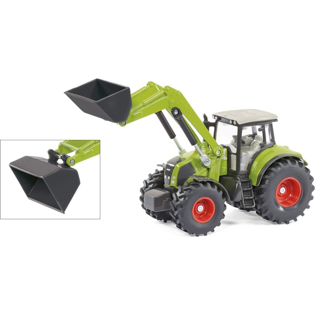 Siku Spielzeug-Traktor »SIKU Farmer, Claas Axion 850 mit Dolly und Muldenkipper«
