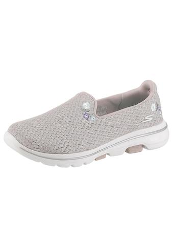 Skechers Slip - On Sneaker »Go Walk 5  -  Garland« kaufen