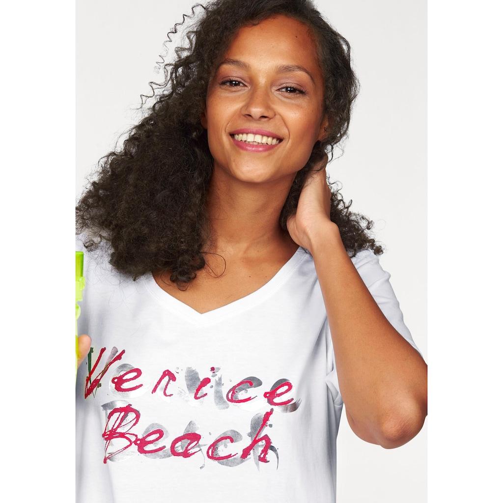 Venice Beach Longshirt, Große Größen