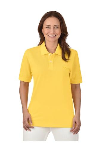 Trigema Poloshirt DELUXE Piqué kaufen