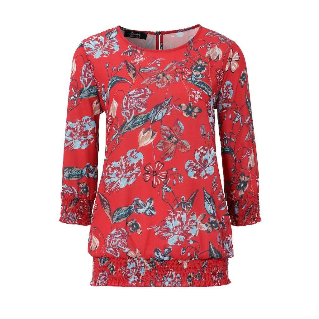Aniston SELECTED Schlupfbluse, im sommerlichen Blumendruck