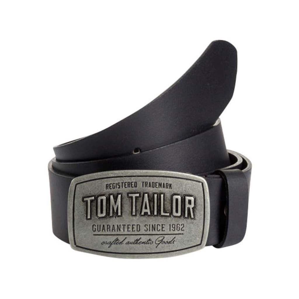 TOM TAILOR Koppelgürtel, mit Logoschnalle