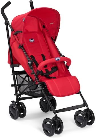 Chicco Kinder-Buggy »London, red passion«, mit schwenk- und feststellbaren Vorderrädern kaufen