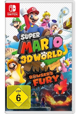 Nintendo Switch Spiel »Super Mario 3D World + Bowser's Fury«, Nintendo Switch kaufen