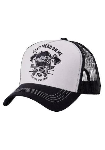 KingKerosin Trucker Cap »Don't Tread On Me«, mit Front-Stickerei kaufen