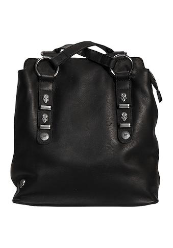 JACK'S INN 54 Cityrucksack »Jack Bobby Burns«, aus Leder, kann als Rucksack oder Umhängetasche getragen werden kaufen