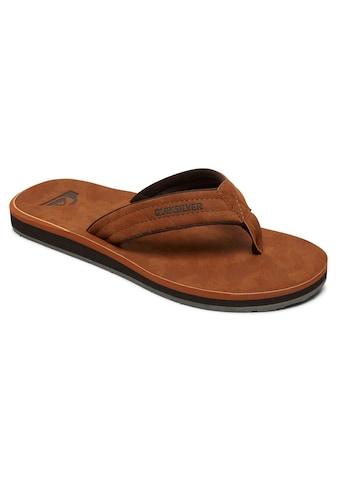 Quiksilver Sandale »Carver Nubuck« kaufen