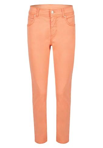 ANGELS Slim-fit-Jeans, 'Ornella' mit unifarbenem Stoff kaufen