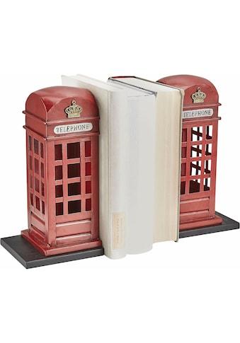 HOFMANN LIVING AND MORE Buchstütze »Telefonzelle« kaufen
