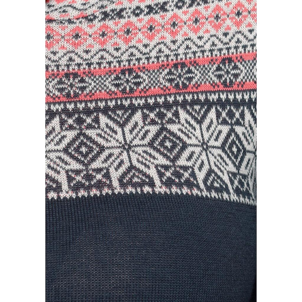 KangaROOS Kapuzenpullover, mit tollem Muster