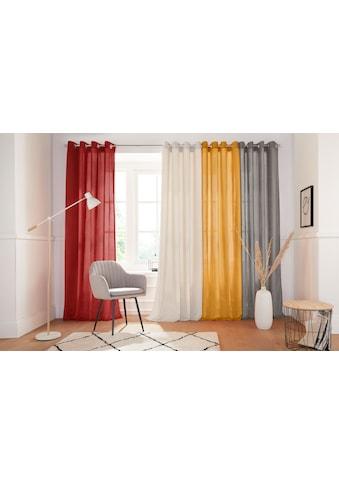 Vorhang, »Tromso - Cord«, andas, Ösen 1 Stück kaufen