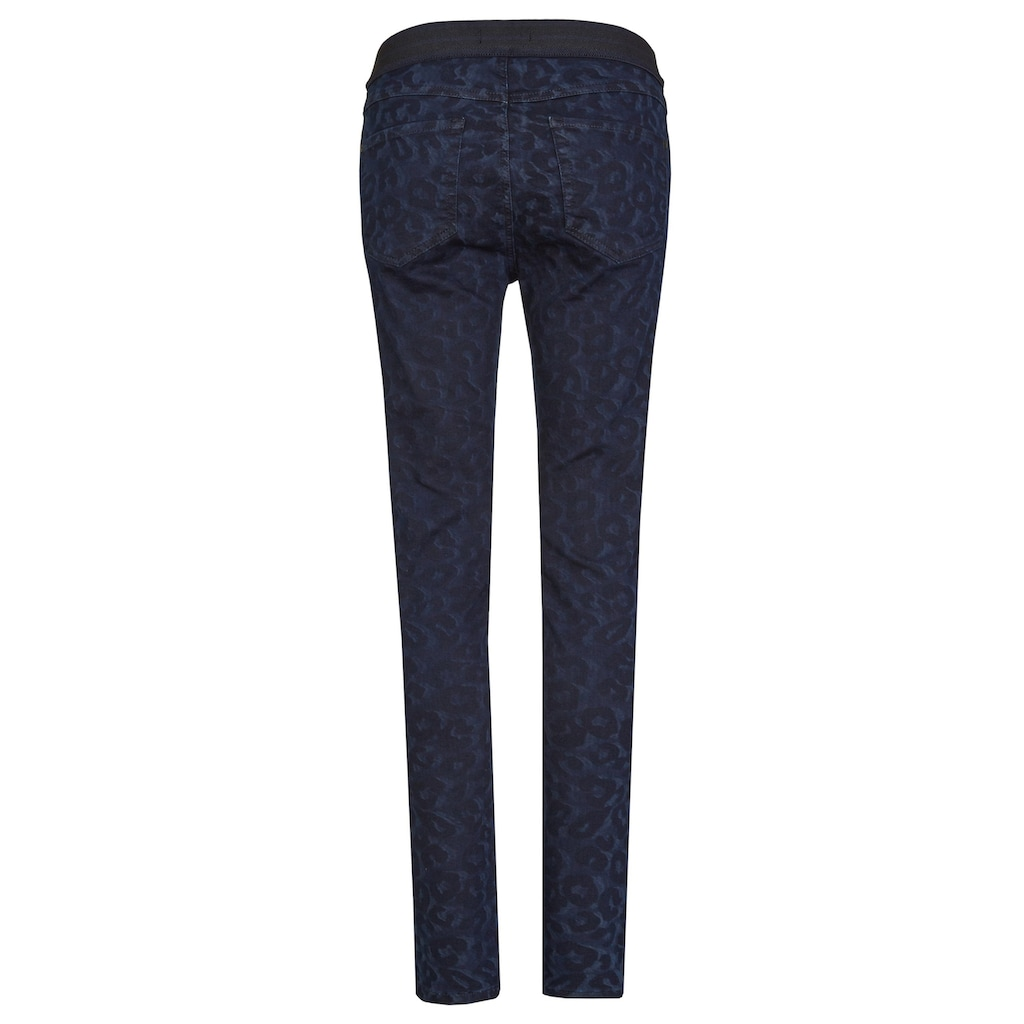 ANGELS Jeans 'Onesize Fits All' mit Leoparden-Muster
