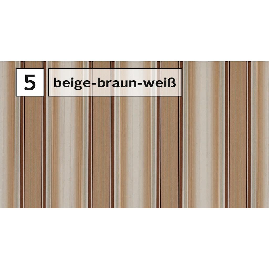 Wismar Gelenkarmmarkise, B: 600 cm, in versch. Ausfällen und Dessins