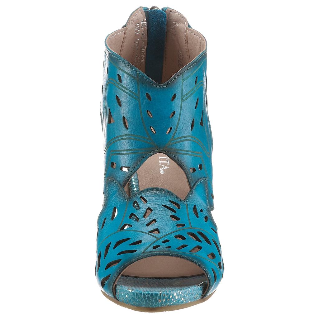 LAURA VITA Sandalette »ALCBANEO 120«, mit sommerlichen Cut-Outs