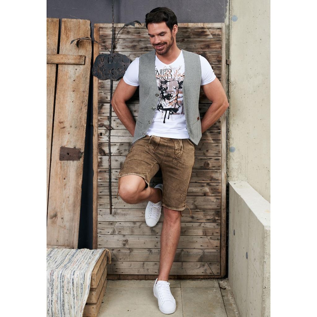Hangowear Trachtenshirt, mit Aufdruck