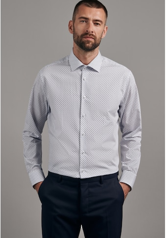 seidensticker Businesshemd »Shaped«, Shaped Langarm Kentkragen Druck kaufen