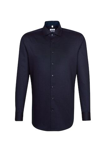 seidensticker Businesshemd »Regular«, Regular Langarm Kentkragen Druck kaufen