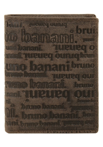 Bruno Banani Geldbörse »ALL OVER«, 2fach klappbar kaufen