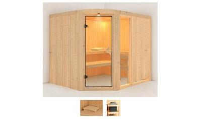 Karibu Sauna »Lakira«, ohne Ofen kaufen