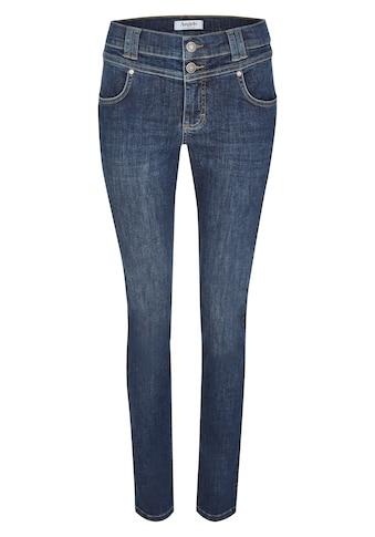 ANGELS Skinny-fit-Jeans, mit Doppelknopf-Verschluss kaufen