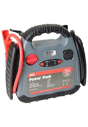 APA Starthilfegerät »Power Pack«, bis 500 Ampere, mit Kompressor kaufen
