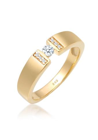 Diamore Diamantring »Verlobung Diamant 0.14 ct. 585 Gelbgold« kaufen