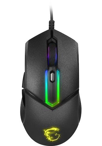 MSI Clutch GM30 Gaming Maus »U - Form RGB Beleuchtung mit über 9 Effekten« kaufen