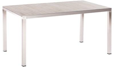 MERXX Gartentisch »San Severo«, Edelstahl/Akazie, 150x80 cm kaufen