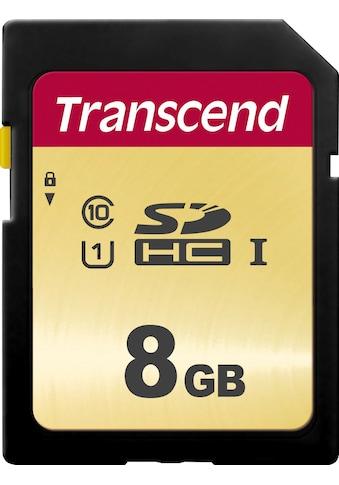 Transcend »SDXC/SDHC 500S« Speicherkarte (Lesegeschwindigkeit maximal 95 MB/s) kaufen